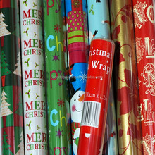 Wholesle Boutique Christmas Gift Wrapping Paper Roll, Gift Roll Wrap
