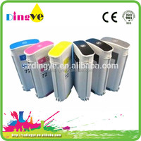 Consumer warehouse price 70 72 refillable ink cartridge for hp T610 printer