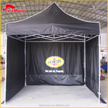 10x10 full color graphics custom printing pop up gazebo with swings