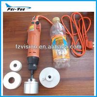 Easy operating Manufactory Manual Electric Plastic Water Bottle Sealing Cap Machine