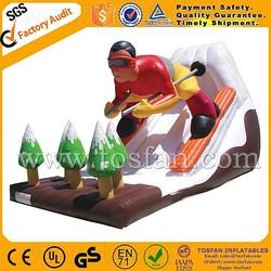 custom design water slide inflatable A4011