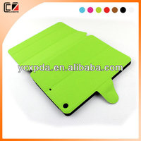 2014 newest design candy color leather case for iPad mini 2,case manufacturer