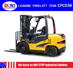 CPCD30 CHINA New Diesel LIUGONG 3 ton Forklift