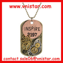 Vnistar steam punk de poids plaque collier steampunk bijoux designs