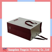 Special Shape Apparel Craft Paper Packaging Bag For Socks