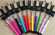 handheld self stick wired monopod cable take pole selfie stick z07-5 plus mono pods for smartphone