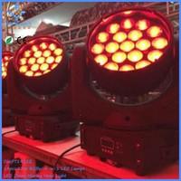 Professional mini concert stage lighting DMX master/slave led zoom moving head wash light