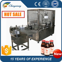 Shanghai facory direct sales automatic bottle washing filling and capping machine(trade assurance)