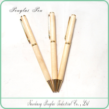 2015 classical slim thin cross wooden drum stick pen