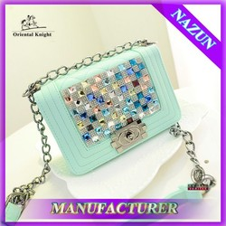 Latest fashionable women shoulder bag made in China