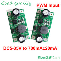 Factory Price 3 w 2 w LED driver 700 ma PWM dimming input 5-35 v DC - DC constant current module