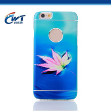 Accept custom picture colorful guitar case for iphone
