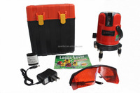2016 red rotary laser level with lithium battery,Spirit level vial,Mini level