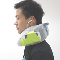 new arrival memory foam spine support neck rest pillow for car seat