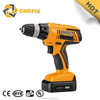 CF1008B taps 2015 new li-ion power tools cordless drill battery with tool box