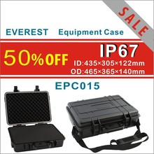hard shell PP equipment case with foam