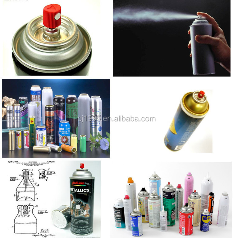 2015 Factory Sale Automatic Spray Paint Can Aerosol Filling Machine Equipment