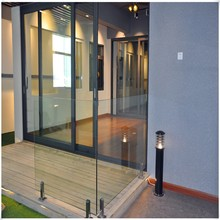 stainless steel glass handrail for swimming pool or garden