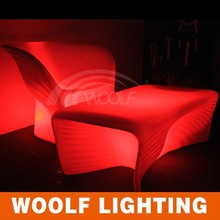 battery power rechargeable led kiel furniture lounge table