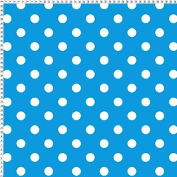 4 way stretch printed polyester lycra fabric polka dot