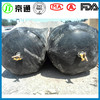 round inflatable rubber core mold for construction