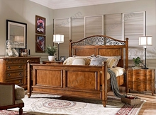 American Rustic Solid Wood 4 Poster Luxury Bed