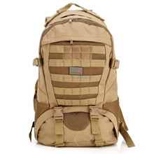 Multi Solid Nylon wearproof Unisex Outdoor Sport Climbing Camping Hiking Trekking Molle travel Bags Military Tactical Backpack