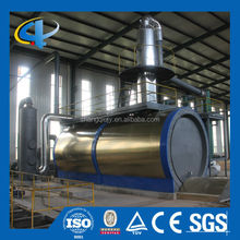 Factory direct waste engine oil refining distillation plant