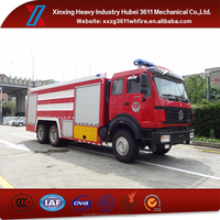 Hot Sell New Arrival Emergency Rescue Water Tank Fire Truck For Sale