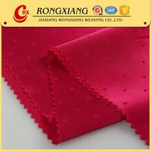 Fabric textile supplier Fashion Woven satin dobby jacquard fabric