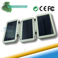 6000mAh Portable Solar Backup Battery Charger for Laptop