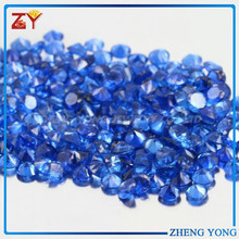 Machine Cut Round Blue Spinel Stone for Ring