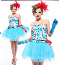 rosa de hadas jugar un payaso traje de princesa vestido ropa sexy