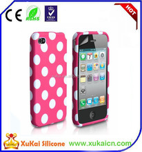 For Samsung Galaxy s4 i9500 Cow Rubber Gel Silicone Skin Case Phone Cover