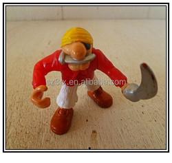 Pirate vinyl toys for kids,Custom character vinyl toys ,Vinyl toys manufactures for sale