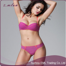 New Arrival Ladies Sexy Brand Push Up Bra