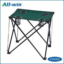 cheap portable foldable cloth camping table for outdoor use