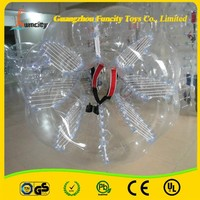best seller-- inflatable bubble soccer ball, body bounce grass ball for wholesale