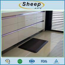 PU foaming anti fatigue kitchen floor mat
