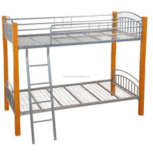 Home Furniture General Use and Wood Material Double Bunk Beds