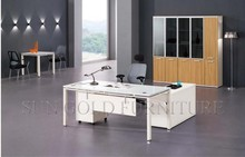 New Modern office furniture Classy designed office furniture Boss designed office table (SZ-OD344)