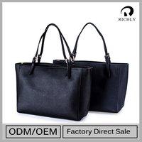 2015Promotional Customization Big Price Drop Genuine Leather Travel Bag