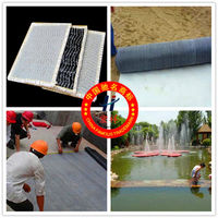 Top quality GCL geosynthetic clay liner used for artificial lake