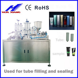 Automatic Cosmetic Tube filling machine
