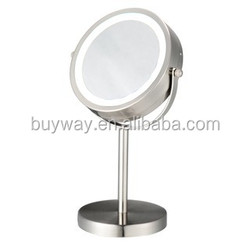 Hot cake cosmetic copper led light with mirror