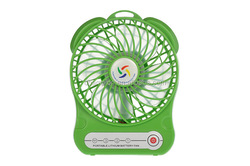 Lithium ion batteries freestanding stand fan with light usb plug mini fan with LED light