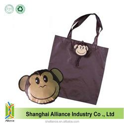 Pet Monkey Shape Standard Size Recycled Foldable Shopping Bag