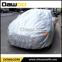 Anti-scratch And Hail Protection Oem Coated Silver 210d Oxford Car Cover