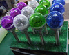 glass ball stake solar light,multi colored solar garden lights High Quality Multi Colored Solar Garden Lights