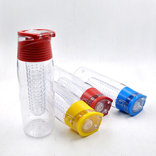 Bpa free plastic water bottle with infuser manufacture